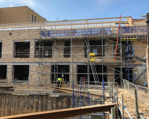 Curo Construction Commence Works at Huguenot Place