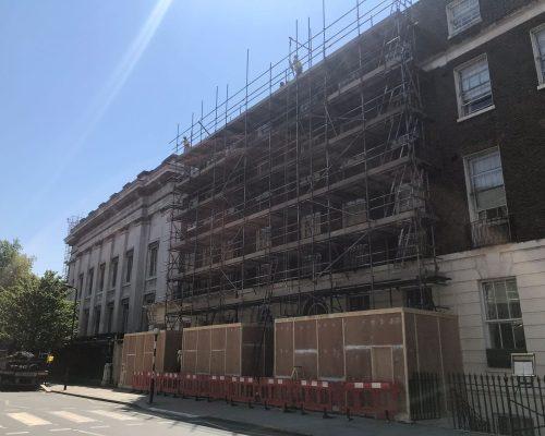Preparing for Façade Restoration at the British Museum